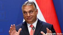 Ungarn Budapest | Pressekonferenz: Viktor Orban