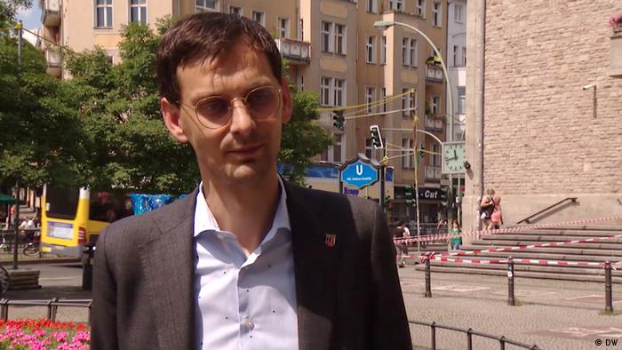 Primarul din Neukölln Martin Hikel