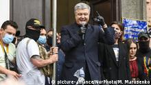 Ukraine Kiew Prozess Petro Poroschenko