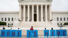USA Washington | Demonstration vor dem obersten Gerichtshof zum erhalt des DACA Programms