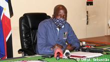18.06.2020 Mosambik Bairal | André Madjibiri, Generalsekretär der mosambikanischen Oppostionspartei RENAMO