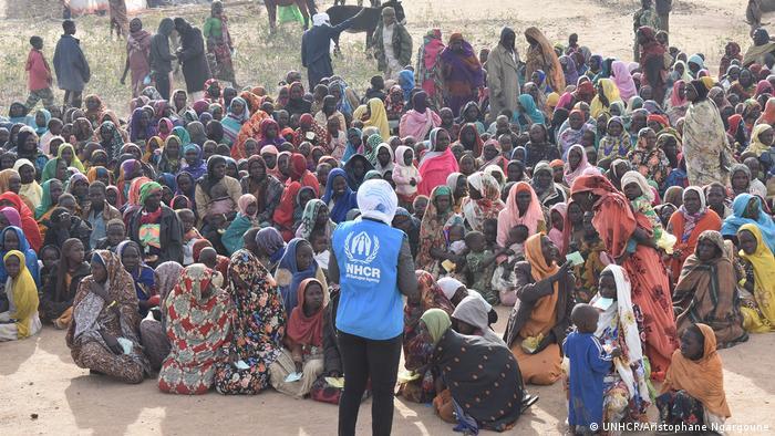 Pressefoto UNHCR | Tschad, Hilouta (UNHCR/Aristophane Ngargoune)
