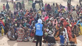 Pressefoto UNHCR   Tschad, Hilouta