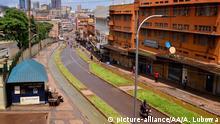 Straßen von Kampala, der Hauptstadt von Uganda