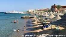 Ägypten Hurghada | Touristen im Wasser