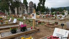 Italien Bergamo | Friedhof Bergamo: hauptäschlich Covid-Tote