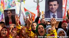 Türkei | Kurden | Demonstration für Selahattin Demirtas