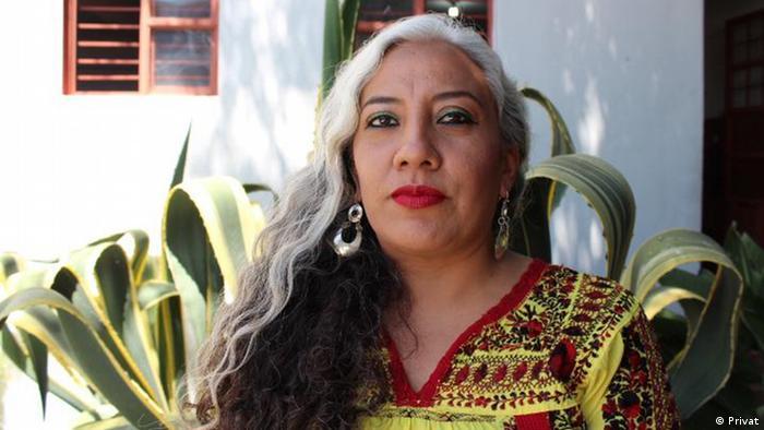 Yesica Sanchez Maya mexikanische Aktivistin