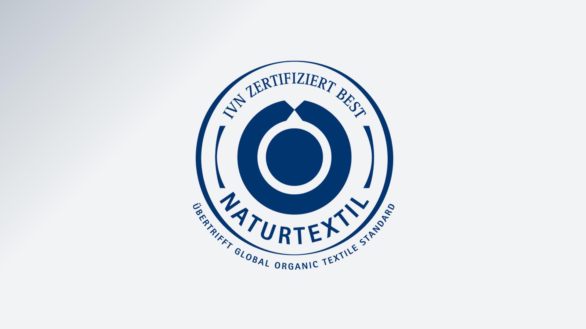 Знак Международной ассоциации производителей натурального текстиля IVN Best