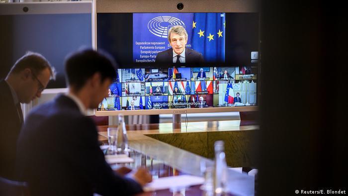 EU-Gipfel |Finanzhilfen Coronakrise |Paris (Reuters/E. Blondet)