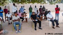 Flüchtlinge und Asylsuchende im Flüchtlingslager Maratane in Nampula, Mosambik. Datum: 18.06.2020. Ort: Nampula, Mosambik. Rechte: Sitoi Lutxeque, DW.