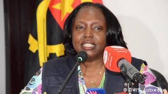 Angola Gesundheitsministerin Sílvia Lutucuta