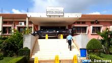 Provinzkrankenhaus in Kwanza Norte, Angola. Datum: 18.06.2020. Ort: Ndalatando, Angola. Rechte: António Domingos, DW