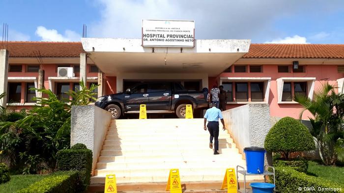 Angola Provinzkrankenhaus in Kwanza Norte