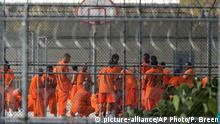 USA Häftlinge im Arizona State Prison-Kingman in Golden Valley