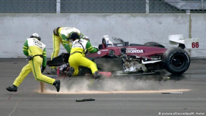 Motorsport American Memorial am Lausitzring Unfall Alex Zanardi (picture-alliance/dpa/M. Hiekel)