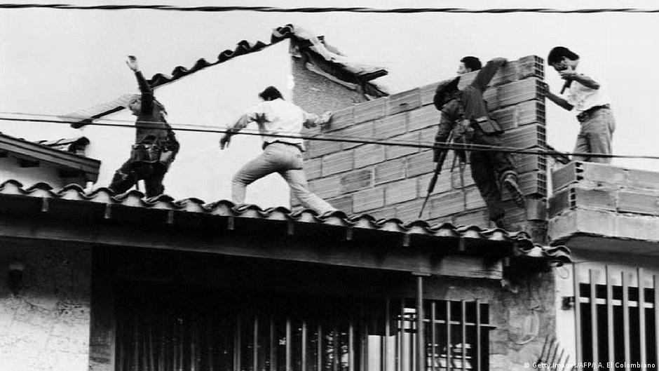Kolumbien Medellín 1993   Operation gegen und Tod von Pablo Escobar