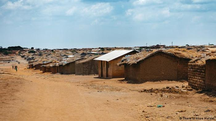 Street scene at the Dzaleka Refugee Camp