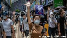 China: Proteste in Hongkong