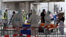 Deutschland Coronavirus - Infektionswelle bei Fleischverarbeiter Tönnies
