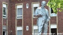 Lenin-Statue in Gelsenkirchen enthüllt