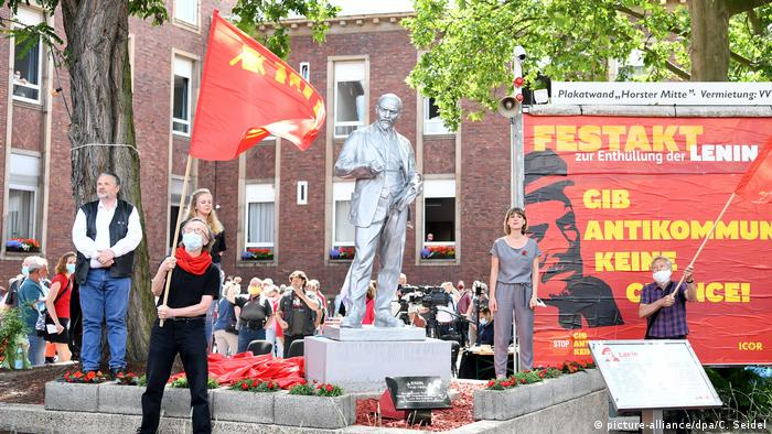Lenin statue (picture-alliance/dpa/C. Seidel)