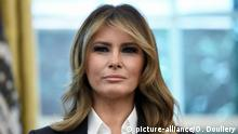 File photo - First Lady Melania Trump looks on during a meeting with the members of Team USA for the 2019 Special Olympics World Games in the Oval Office of the Washington, D.C., on July 18, 2019. A new, scrupulously reported biography by Washington Post reporter Mary Jordan argues that the first lady is not a pawn but a player, an accessory in the second as much as the first sense, and a woman able to get what she wants from one of the most powerful and transparently vain men in the world. The book is called The Art of Her Deal. Photo by Olivier Douliery/ABACAPRESS.COM |