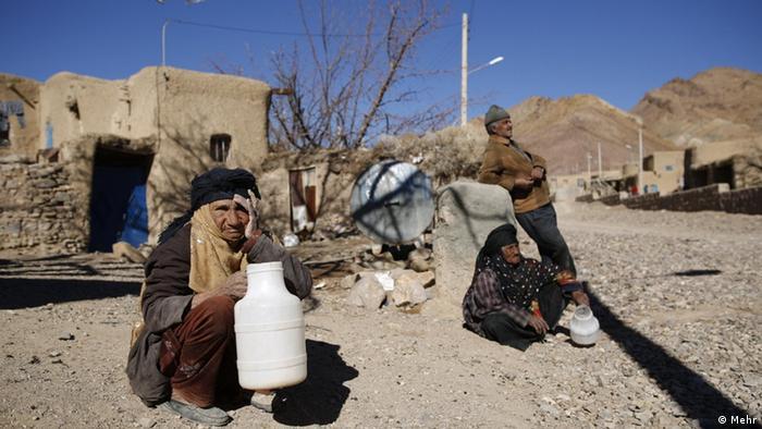 Iran Landflucht & Dürre