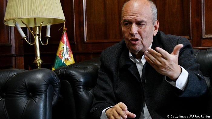 El actual ministro de Gobierno Arturo Murillo, llegó a amenazar a quienes tildó de legisladores subversivos. (Getty Images/AFP/A. Raldes)