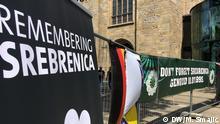 Deutschland Gedenkveranstaltungen zum Jahrestag von Srebrenica in Dortmund