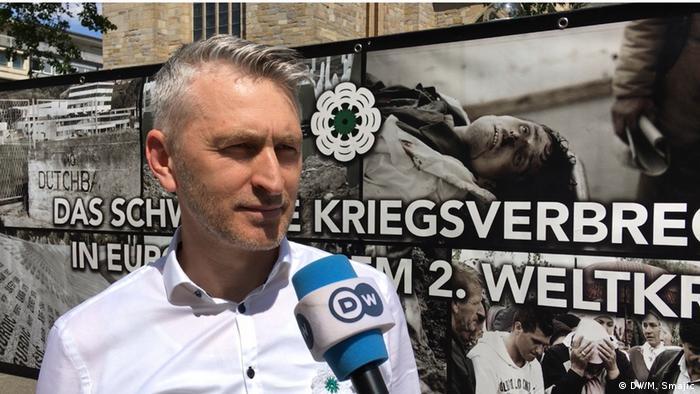 Amir Aletić i Mehmed Valjevac iz organizacionog odbora žale što Islamska zajednica Bošnjaka u Njemačkoj nije pružila podršku održavanja skupa.