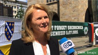 Deutschland Gedenkveranstaltungen zum Jahrestag von Srebrenica in Dortmund | Sabine Poschmann