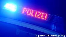 Deutschland Symbolbild Polizei ARCHIV