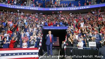 Встреча президента Трампа со своими сторонниками в Талсе, Оклахома