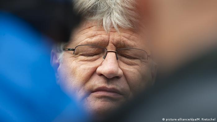 Jörg Meuthen looking defeated