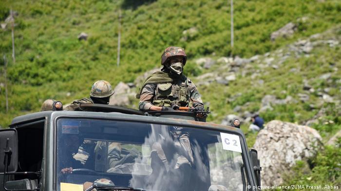 Konflikt China Indien | Ganderbal-Grenze (picture-alliance/ZUMA Press/I. Abbas)