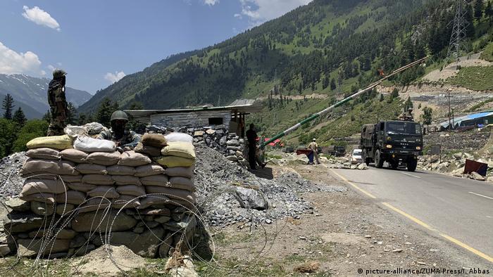Konflikt China Indien   Ganderbal-Grenze