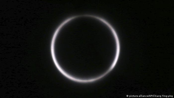 Eclipse seen from Taiwan Chiayi City (picture-alliance/AP/Chiang Ying-ying)