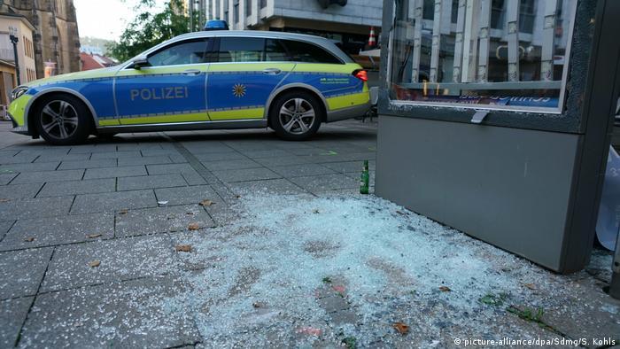 Stuttgart Randale und Plünderungen