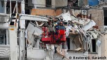 Ukraine Kiew Explosion in Wohnhaus
