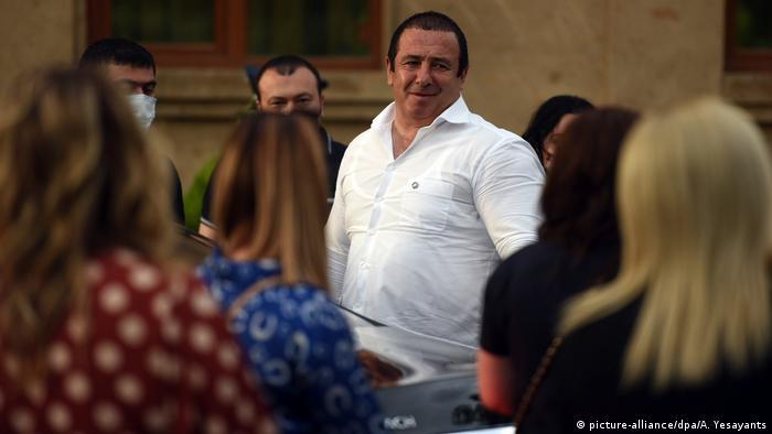 Председатель партии Процветающая Армения Гагик Царукян (фото из архива)