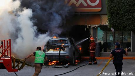 Mexiko Guanajuato   Operation gegen des Organisierte Verbrechen (Reuters/S. Maldonado)