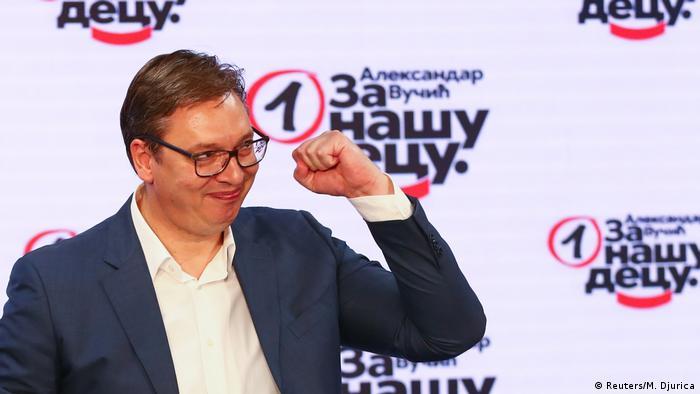 Predsednik Srbije Aleksandar Vučić pre četiri meseca, 21. juna uveče, nakon izbora