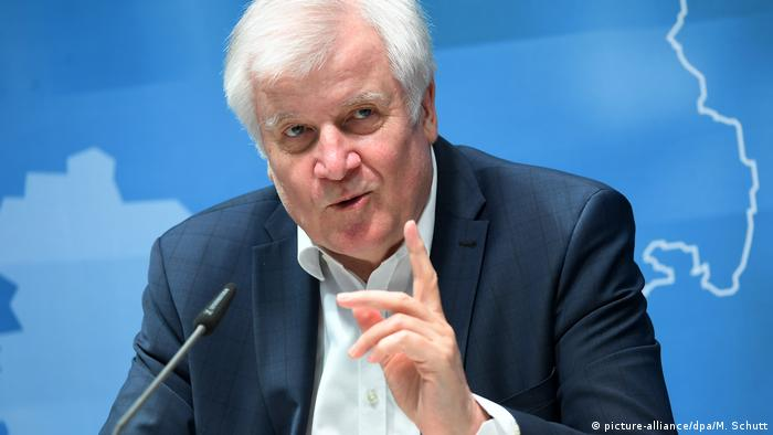 Ministro do Interior alemão, Horst Seehofer