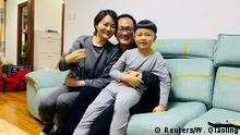 Menschenrechtsanwalt Wang Quanzhang und Li Wenzu