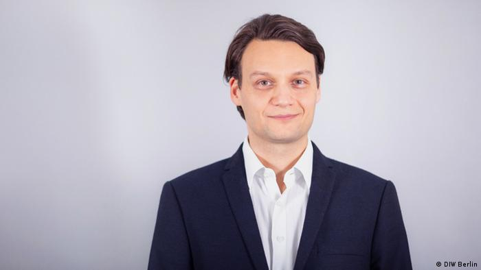 Alexander Kriwoluzky, Leiter Abteilung Makroökonomie am DIW