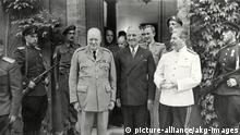 Deutschland Potsdamer Konferenz | Churchill, Truman, Stalin
