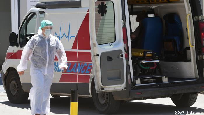 Nordmazedonien Corona-Pandemie in Skopje