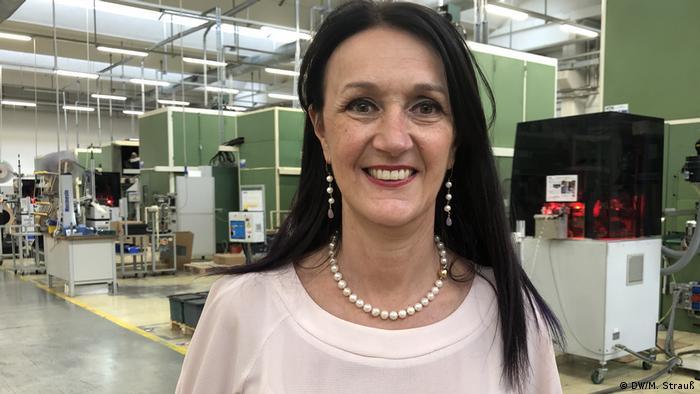Italien Maria Vittoria Falchetti, Marketing Director MTA Codogno