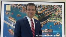 Türkei Istanbul Bürgermeisterwahl Ekrem Imamoglu